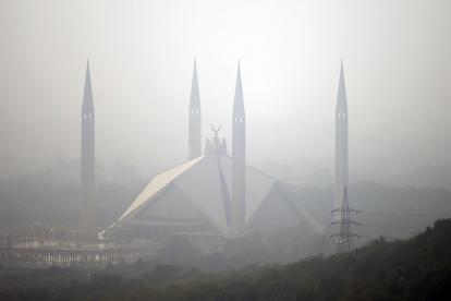Polución en Pakistán