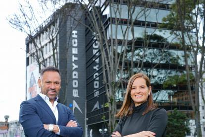Nicolás Loaiza y Gigliola Aycardi, fundadores de Bodytech.