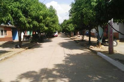 Los hechos ocurrieron en el barrio El Rocío en Valledupar.