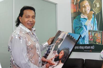 El desaparecido cantante Diomedes Díaz.