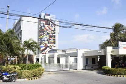 Hospital del Cari en Barranquilla.