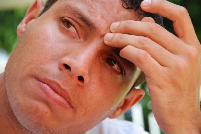 Martín Arzuaga se mostró conmovido con el fallecimiento de Carlos Ricardo Diazgranados.