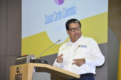 El ministro de Minas y energía Germán Arce.