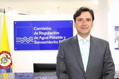 Germán Eduardo Osorio Cifuentes, director Ejecutivo de la Comisión de Regulación de Agua Potable y Saneamiento Básico - CRA.