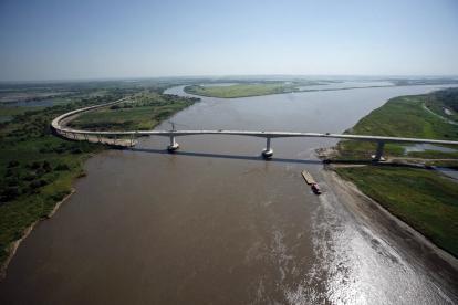 Aspecto general del puente Yatí-Bodega.