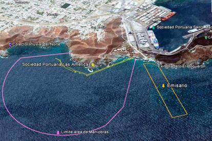 Puerto de graneles de Santa Marta.