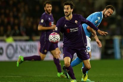Davide Astori, capitán de Fiorentina, fallecido.