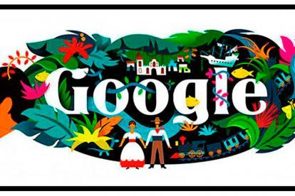 El  'doodle' el homenaje a Gabriel García Márquez.