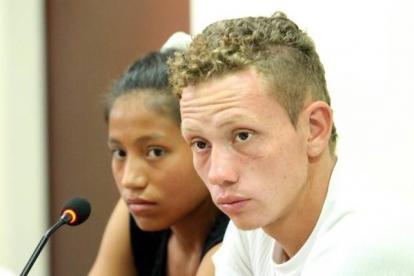 Laura Ximena Raigozo Guáqueta y Andrés Zaid Gómez Salcedo, condenados.