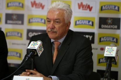 Jorge Perdomo Torres, presidente de la Dimayor.
