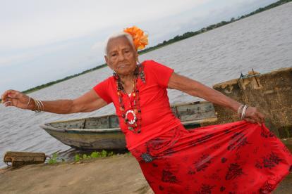 Bertha Tulia Piña Arrieta, ícono del baile folclórico en el Caribe.