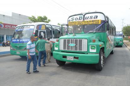 El gremio de transportadores implementó medidas para combatir los robos.