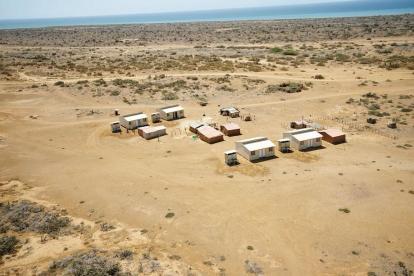 Una nueva ranchería localizada en La Guajira.