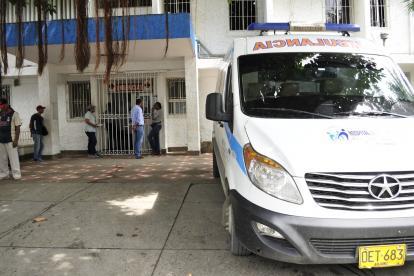 La niña perdió la vida en la clínica Madre Bernarda.