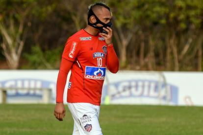 Jarlan Barrera, mediocampista ofensivo de Junior.
