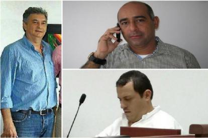 Alejandro Lyons, José Jaime Pareja y Sami Spath Storino.