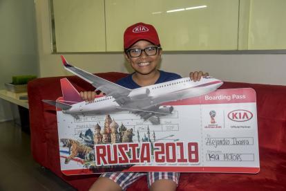Alejandro Ibarra estará cuatro días en Rusia.