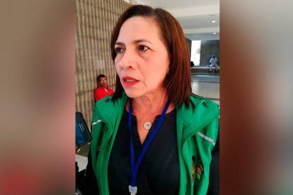 Gladys Caraballo, directora regional (e) del Icbf en Córdoba.