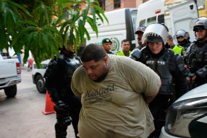 'Monsta Man' tras ser detenido.