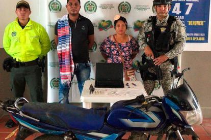 José Carlos Martínez, alias el Mocho, fue capturado en el corregimiento de Tenche, zona rural del municipio de San Jacinto del Cauca.