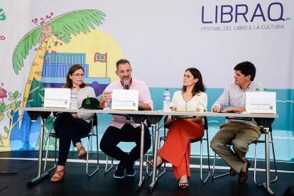 María Teresa Fernández, Juan José Jaramillo, Alexandra Vives y Andrés López Valderrama.