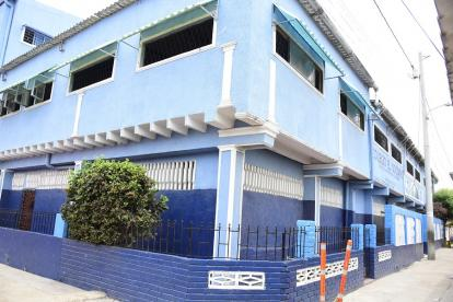 Colegio El Socorro, ubicado en el barrio Bellavista de Malambo.