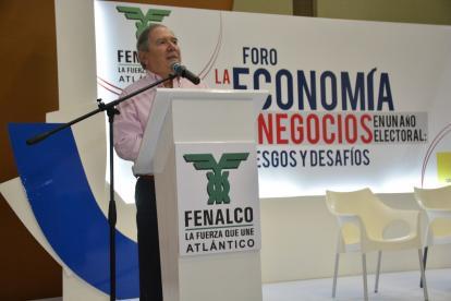 Guillermo Botero, presidente nacional de Fenalco.