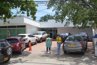 Fachada Secretaría de Salud de Santa Marta