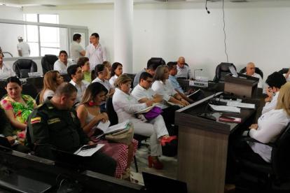 El tema de la violencia intrafamiliar fue objeto de análisis hasta este mediodía del miércoles en el Concejo de Montería.