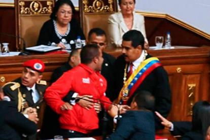 La seguridad de Maduro controla a Yendri Sánchez.