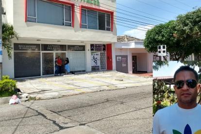 Adolfo Bernal Gutiérrez, exalcalde de Malambo salía de esta iglesia cuando fue abordado por un sujeto armado.