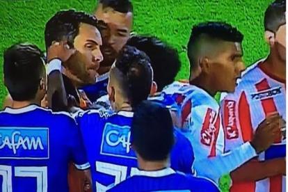 La provocación de Domínguez a Viera.