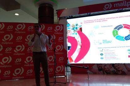 Pablo Pulido Sierra, gerente nacional de Mallplaza.