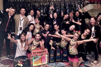 La competición internacional se llevó a cabo del 23 al 25 de noviembre en Orlando, Florida.