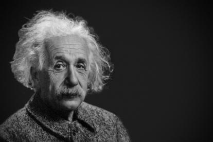 El físico alemán de origen judío Albert Einstein, autor de teoría de la relatividad.