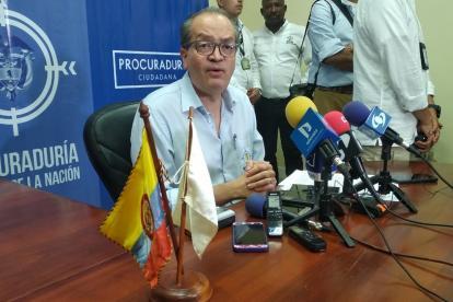 El procurador General de la Nación, Fernando Carrillo Flórez.