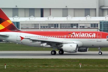 Aeronave de Oceanair que opera con el nombre comercial de Avianca Brasil.
