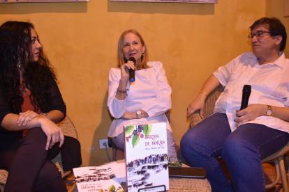 Claudia Ayola, Alba Pérez del Río y Jaime Abello.