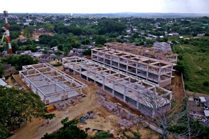 El colegio Industrial de Sabanalarga es una de las obras que fortalecerá el sistema educativo.