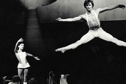 Nuréyev y Margot Fonteyn, la principal bailarina británica de su época.