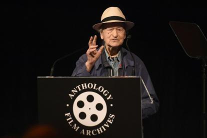 El director Jonas Mekas.