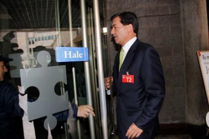Luis Alfonso Hoyos Aristizábal, exasesor de la campaña presidencial de Iván Zuluaga en 2014.