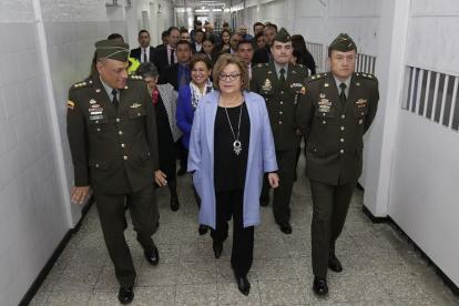 La ministra de Justicia, Gloria María Borrero, informó que la carta ya se encuentra en Estados Unidos.