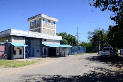 Fachada de la Cárcel La Tramacúa de Valledupar.