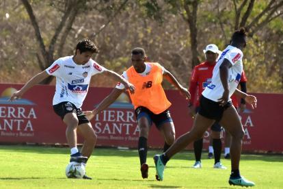 El chileno Matías Fernández ha dado muestras de su talento en los entrenamientos de Junior.