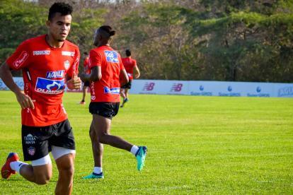 Luis Díaz continúa entrenando con Junior.