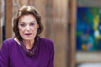 Gloria Zea.