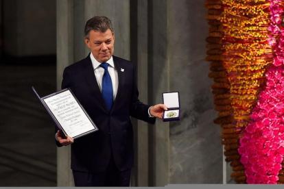 Juan Manuel Santos, expresidente de Colombia y premio Nobel de la Paz 2016.