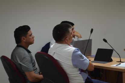 Armando Quintero en el Palacio de Justicia de Sincelejo.