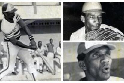 Momentos de Abel Leal como pelotero. Falleció a los 79 años de edad.